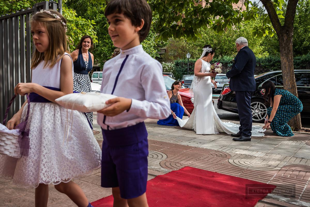 Boda de Rocío y Luis en Aranjuez